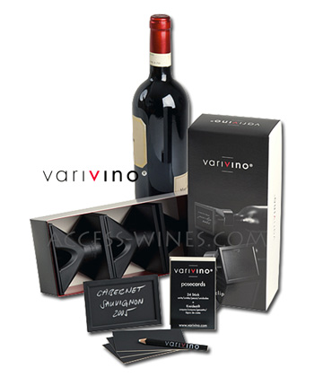 Clips wine label Information Varivino Poseclip