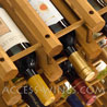 CANTY Kit - Wine-Champagne Modular wooden racks and wine cellar arrangement system