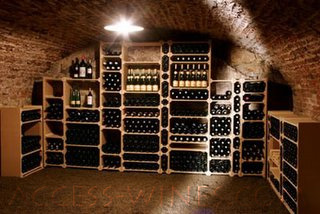casiers pour le rangement des bouteilles de vin ou champagne am nagement de caves. Black Bedroom Furniture Sets. Home Design Ideas