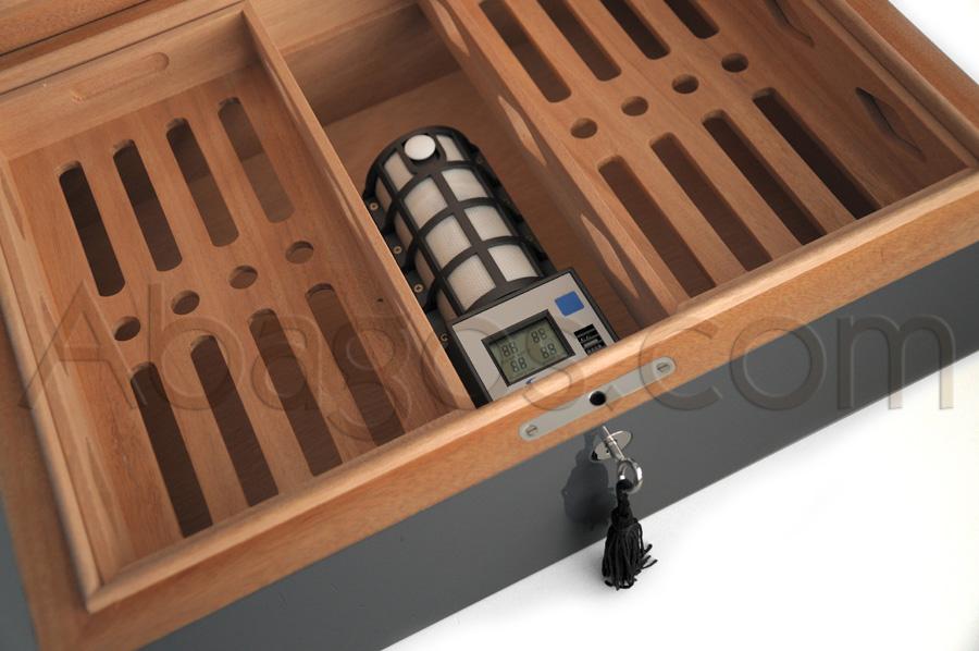 cave cigares villa spa humidor teintes ral laqu es 150. Black Bedroom Furniture Sets. Home Design Ideas