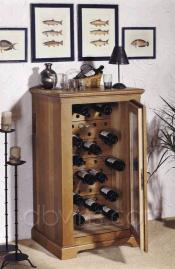cave vin oak 39 s pour 60 bouteilles armoire de conservation. Black Bedroom Furniture Sets. Home Design Ideas