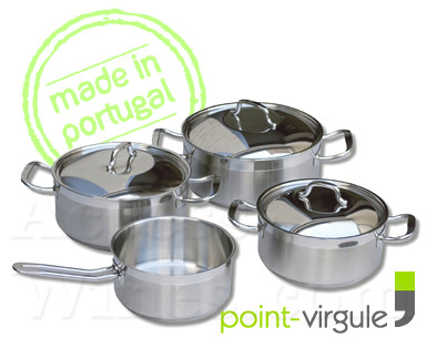 Faitout induction cuisine sur enperdresonlapin for Batterie de cuisine induction inox