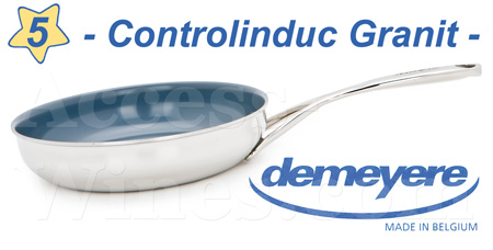 CONTROLINDUC GRANITE Demeyere frying pan