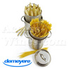 Asparagus cooking pot - all fire including INDUCTION - stainless steel - brand Demeyere