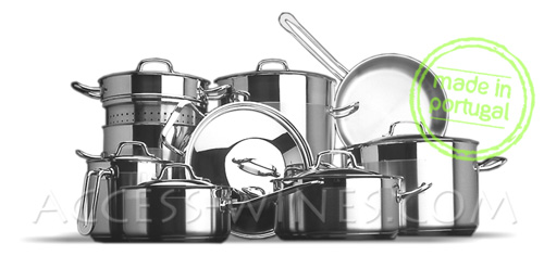 Batterie de cuisine induction inox - Batterie de cuisine beka ...