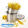 Pasta cooking pot - all fire including INDUCTION - stainless steel - brand Demeyere Resto series