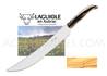 Champagne Saber Laguiole en Aubrac with OLIVE handle and wood case