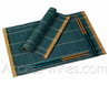 Bamboo placemats set BLUE-GREEN for 2 persons with 2 pairs of matching chopsticks  brand THYPHOON - sets: 40x30cm and chopsticks: 27cm