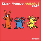Calendrier : Haring Animals 2005