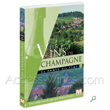 CHAMPAGNE, The DVD wine road,