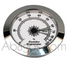 Hygrometre chrom� - Ø 50mm encastrable 45mm