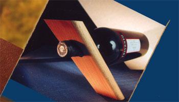 access wines support en bois de h tre pour bouteille de vin. Black Bedroom Furniture Sets. Home Design Ideas