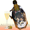 VACUVIN RAPID ICE for champagne bottles cooling  Belle �poque GUY BUFFET decor